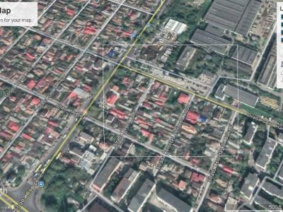 Zona CET , teren liber pentru constructii