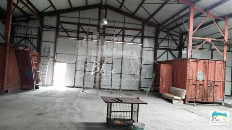 Pod Butelii, hala 450 mp., platforma 200 mp., acces facil
