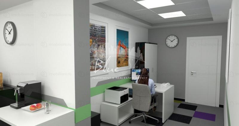 Tomis Nord - Carrefour, cladire birouri P+2, 500 mp., 20 locuri parcare