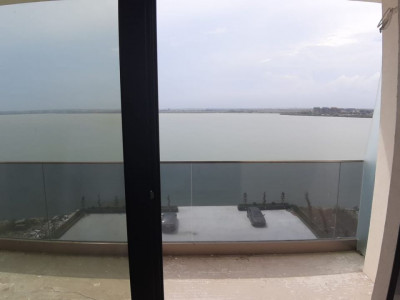 Mamaia Nord -Vedere frontala la lac -Apartement 2 camere