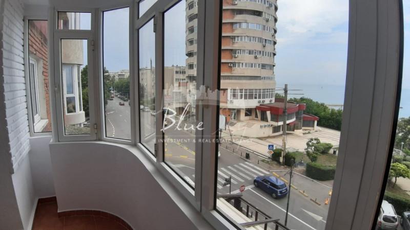Centru- Apartament 3 camere decomandat ,centrala pe gaz, vedere la mare