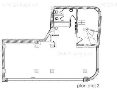 Dacia, spatiu in cladire exclusiva de birouri, 95 mp.