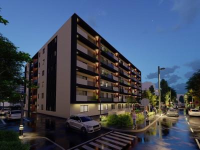 Zona Tomis Plus,bloc nou in constructie ,P+5,2 camere