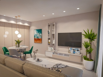 Apartament situat pe malul marii, mobilat si utilat lux