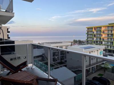 Zona Tomis Nord ,apartament cu 2 camere, vedere la mare