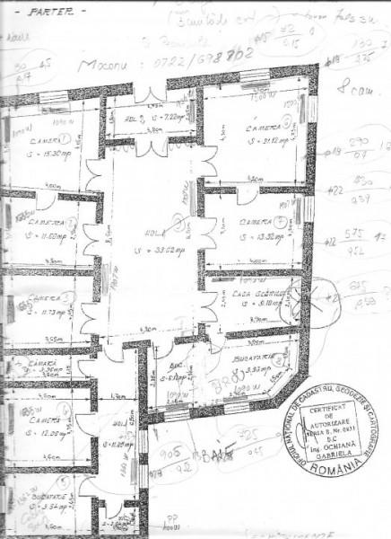 Piata Ovidiu, umobil D+P+1, 20 camere
