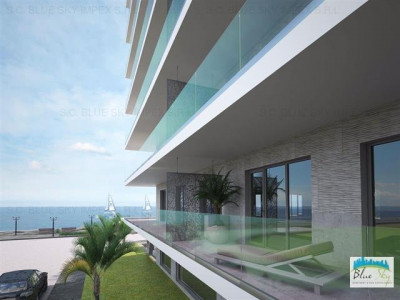 Sea View Luxury Residence, vedere laterala mare, bloc finalizat