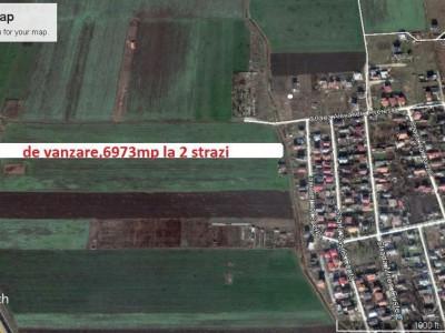 Ocazie-Lazu,teren intravilan 6973mp la cel mai mic pret din zona