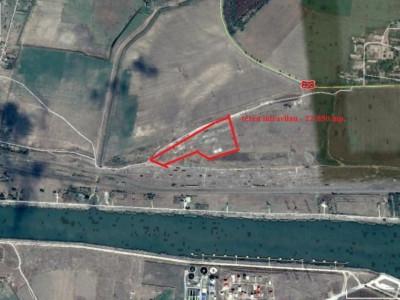 Medgidia, teren intravilan industrial 4.000 mp.