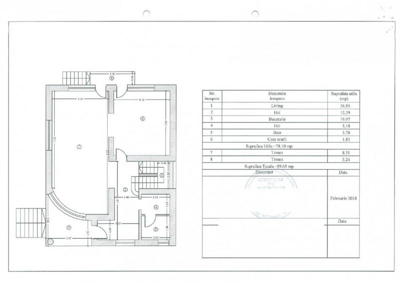 Tomis Plus, imobil D+P+1+Pod, teren 313 mp., 7 camere