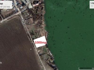 Teren cu deschidere directa la lacul Siutghiol, 1000mp