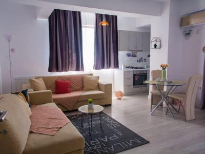 Tomis Plus, apartament 3 camere, 75 mp., mobilat, utilat LUX
