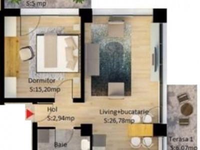 Apartament 2 camere cu vedere la mare